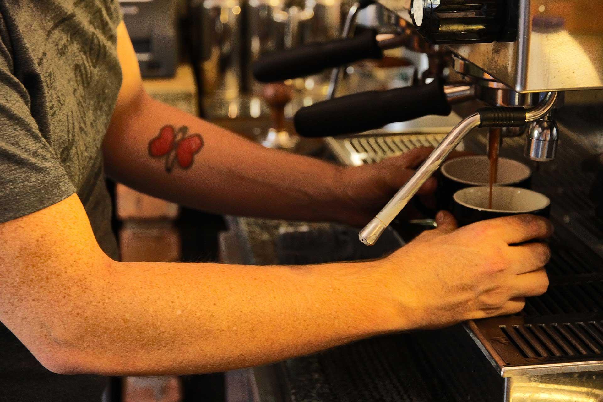terbodore coffee machine
