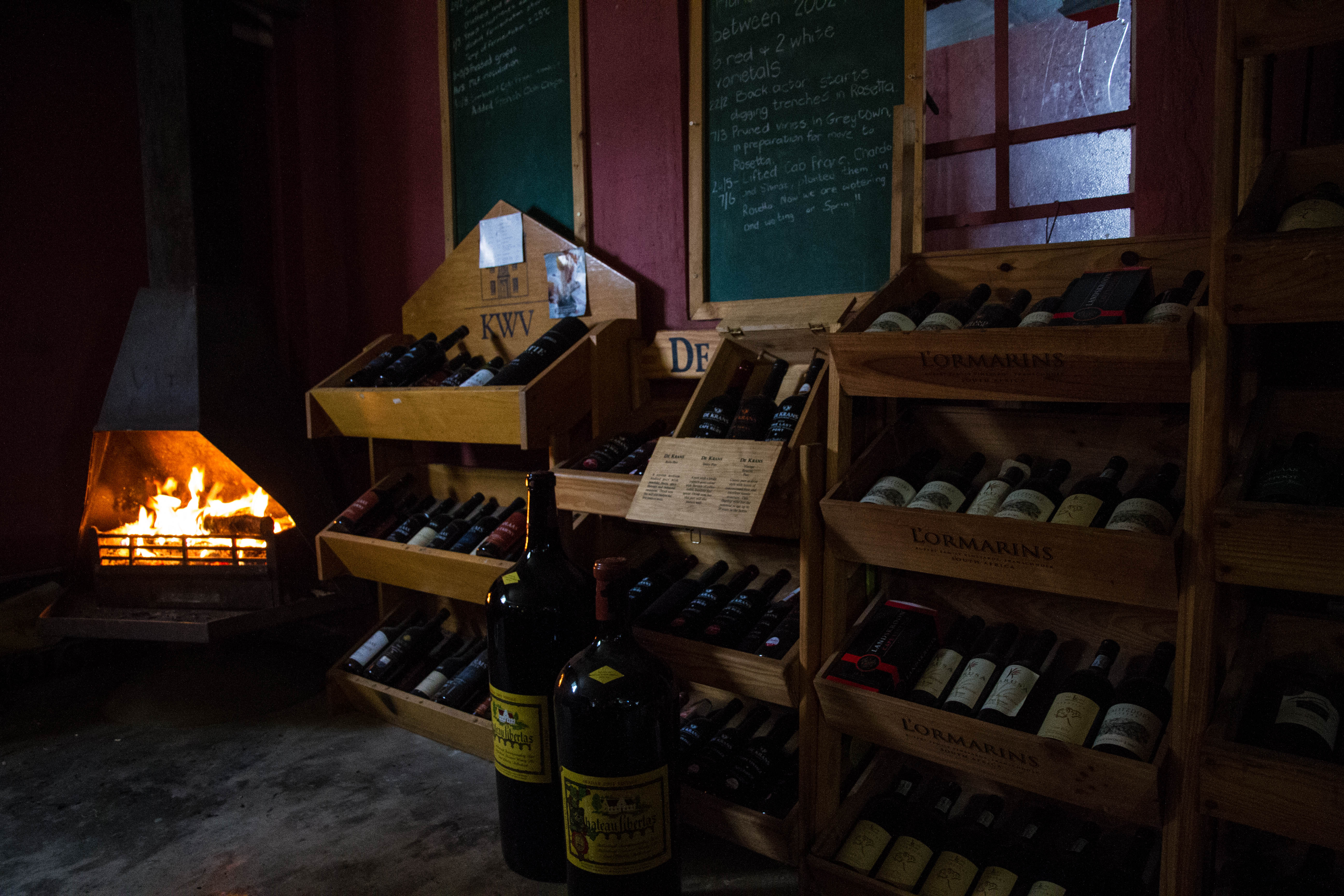 The Wine Cellar interior