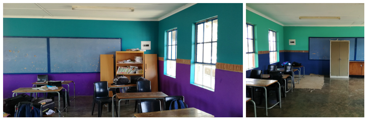 Sibonokuhle painted classrooms